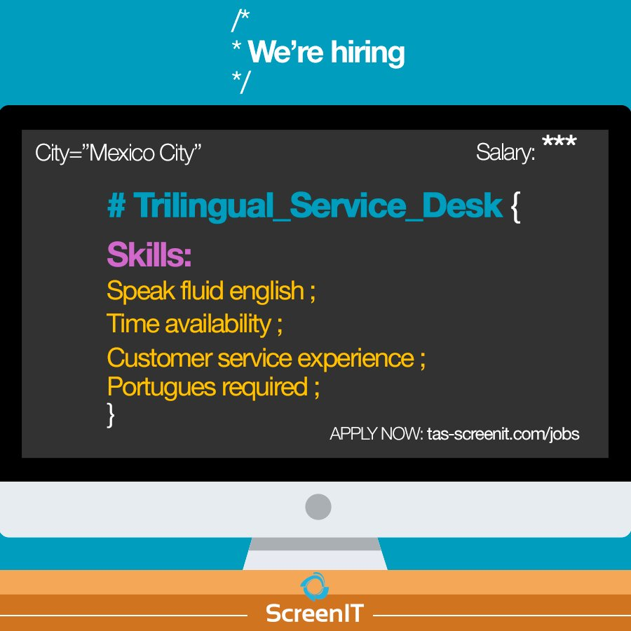 Do you speak English and Portuguese? #buscotrabajo #servicedesk #empleos This job is perfect for you!  http:// bit.ly/2uVnu0D  &nbsp;   APPLY NOW!<br>http://pic.twitter.com/3pM48XmQFh