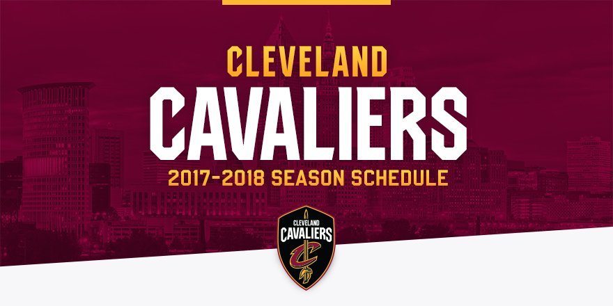 Our 2017-18 schedule is here! 🙌  TAKE A PEEK: https://t.co/ogn1f81DAV...