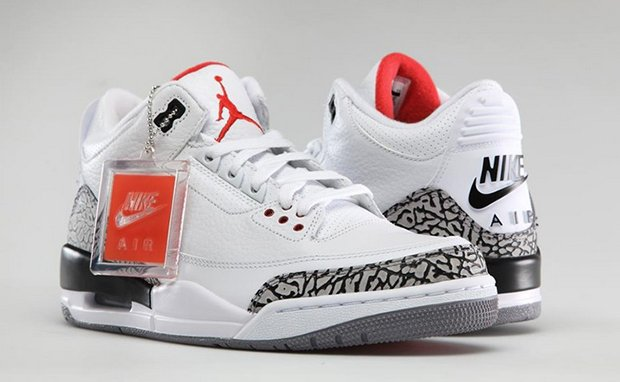 FOR SALE #AIRJORDAN3 RETRO 88 WHITE CEMENT AVAILABLE AT  http://WWW. SIGNATURESHOE.COM  &nbsp;   #FOLLOWUSONTWITTER #SNEAKERHEAD #HYPEBEASTS #HYPEBEASTSTYLE<br>http://pic.twitter.com/oWHAfXLOCk