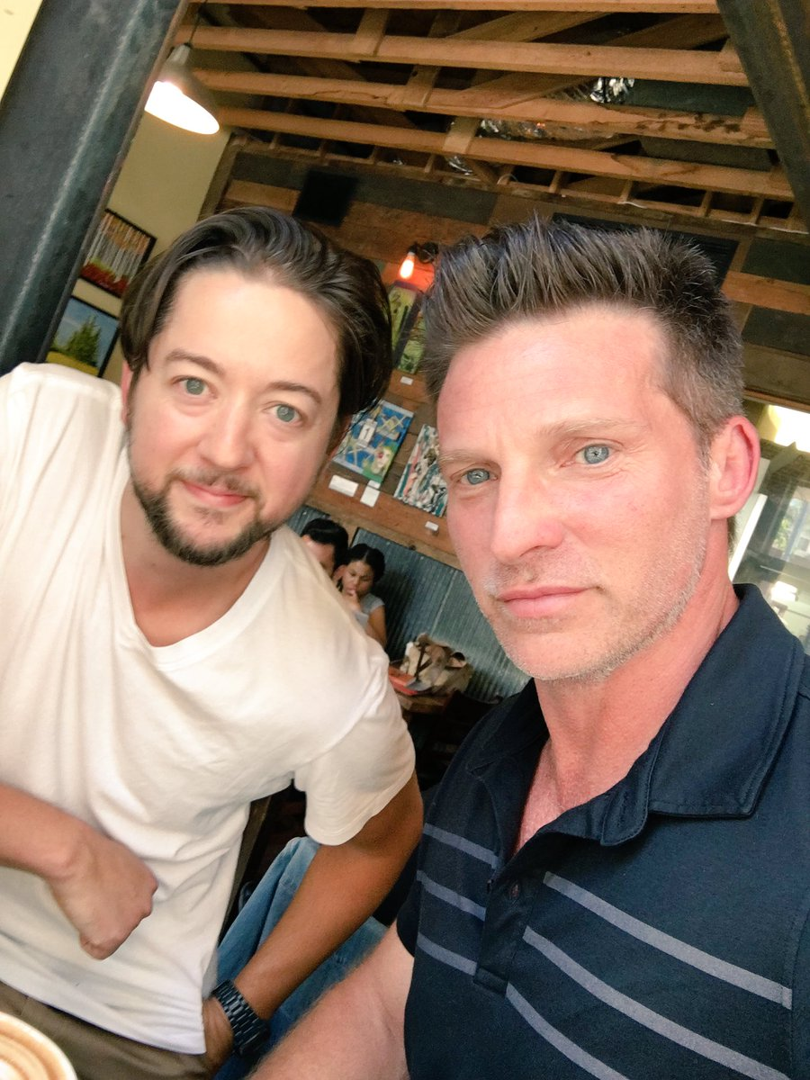 Amazing to be BACK @GeneralHospital Thanks for all of the support..And always awesome to see @BfordAnderson https://t.co/GXk5x2i39h