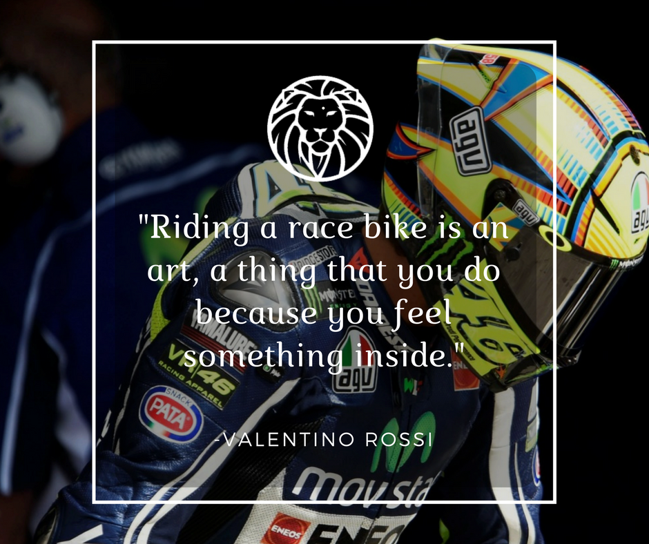 We all lose ourselves when it comes to passion.  #nemeanclothingco #passion #ValentinoRossi #VR46 #movistar #Yamaha #MotoGP<br>http://pic.twitter.com/D9vHep8bce