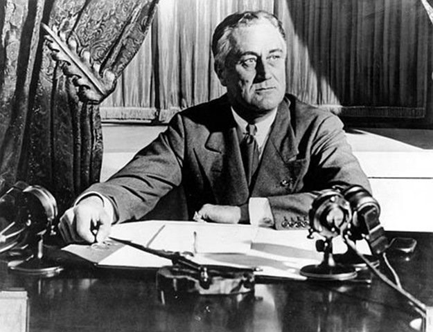 It's important to remind ourselves what America once was, and can be again. On this day in 1935, FDR signed into law the Social Security Act