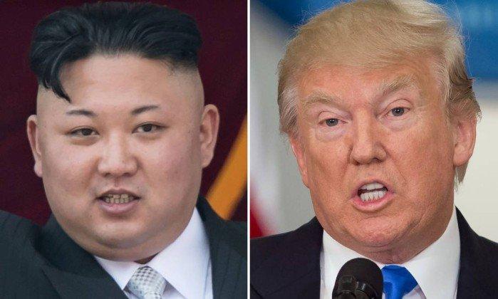 Após ameaça de guerra, Kim Jong-un recua e diz que esperará EUA. https://t.co/9lkqzEIe2e