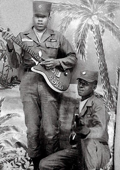 Jimi Hendrix was in the Army 1961-1962: