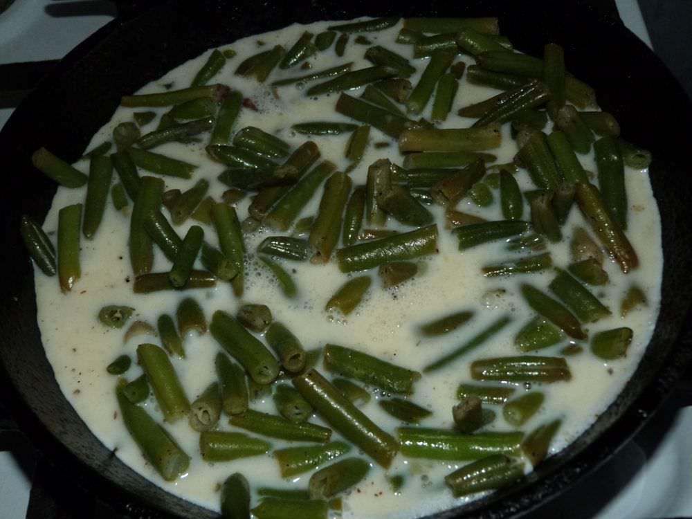 Фасоль стручковая зеленая рецепты