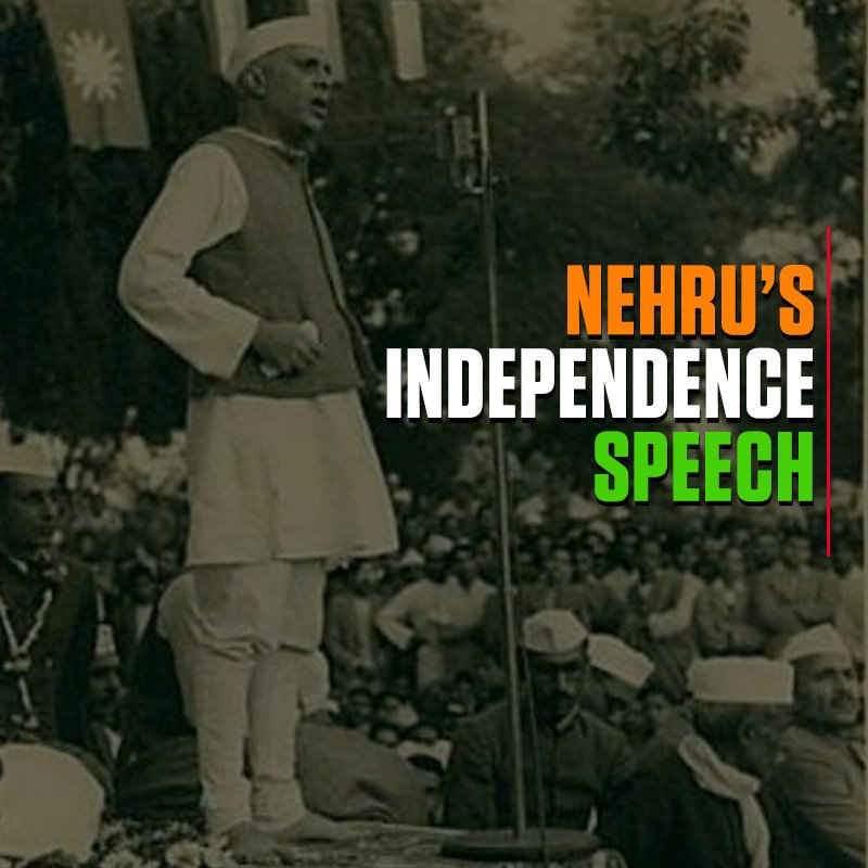 tryst with destiny by jawaharlal nehru Go here for more about jawaharlal nehru go here for more about nehru's a tryst with destiny speech here is a short video clip excerpt of nehru's speech see below for the full transcript it follows the full text transcript of jawaharlal nehru's a tryst with destiny speech, delivered at new delhi, india - august 14, 1947.