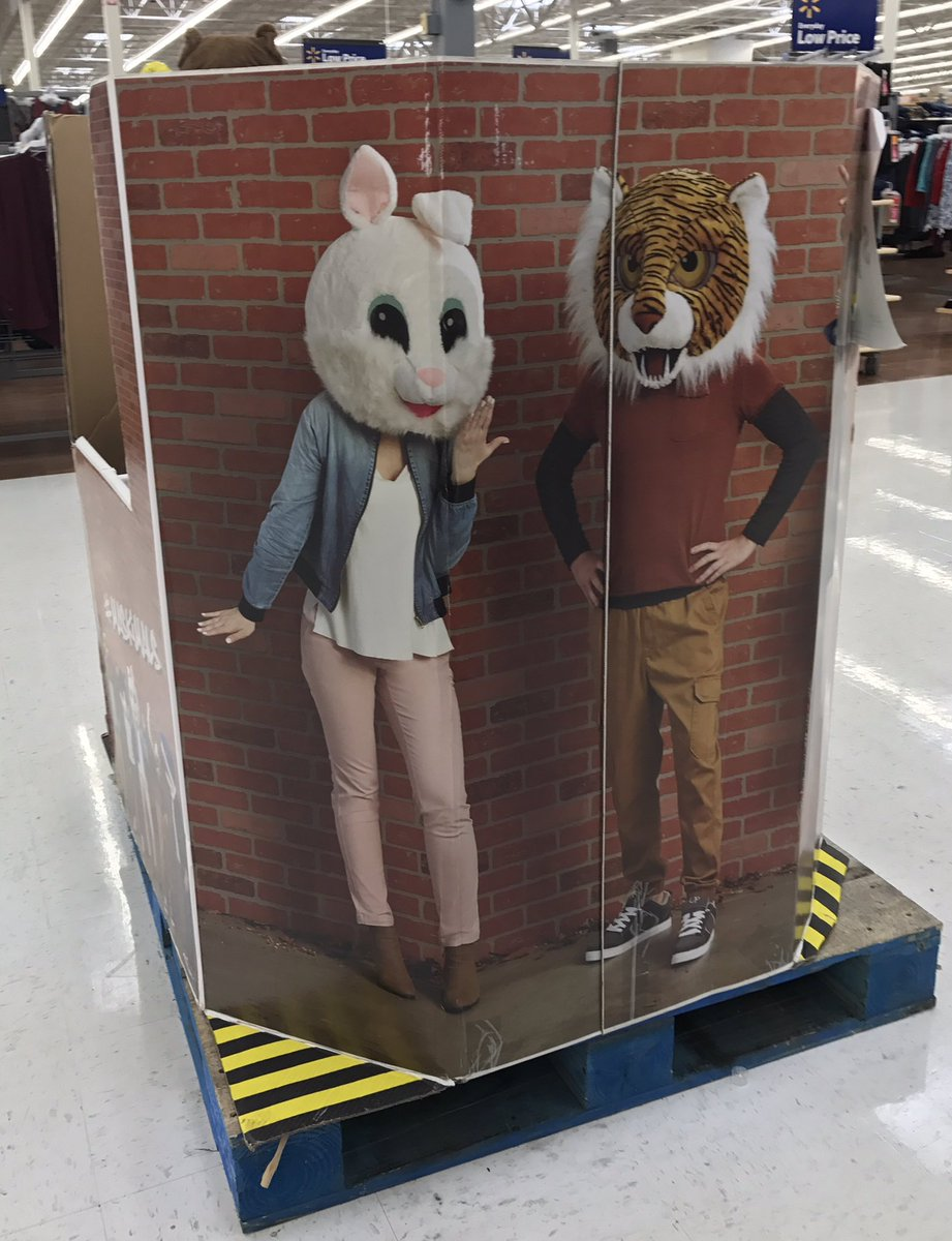 Maybe I&#39;m too old to understand, but where do people go wearing #Maskimals? And why did Walmart roll this out with school supplies? <br>http://pic.twitter.com/pDQtlkhX6l