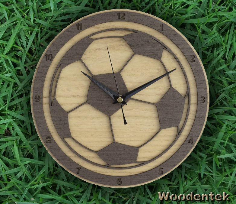 Handmade #Football clock in wood #WallClock #BayernMunich #Christmas -  https://www. etsy.com/listing/511963 782/football-clock-in-wood-soccer-clock?ref=shop_home_active_28 &nbsp; … <br>http://pic.twitter.com/qlx5xJqB3g