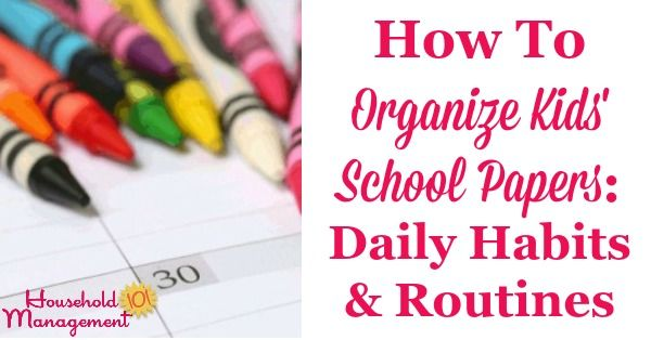How To Keep Track Of And #Organize Your #Child&#39;s #School #Papers  https:// buff.ly/2w8nqek  &nbsp;  <br>http://pic.twitter.com/dzh9AmfvXN