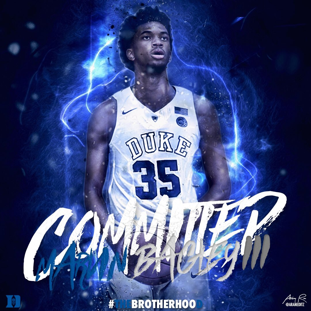 """TIPTON EDITS 🏀 on Twitter: """"5⭐️ Marvin Bagley will join ..."""