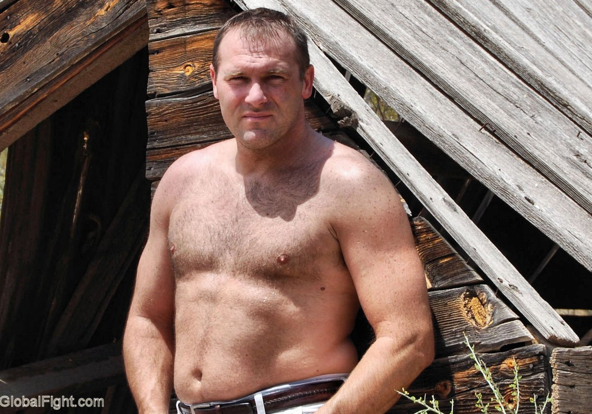 My Carolina ranch bud from  http:// GLOBALFIGHT.com  &nbsp;   #rancher #son #working #shirtless #noshirt #bearcub #hairy #chest #hunk #cute #handsome<br>http://pic.twitter.com/cRHQpbEkMJ