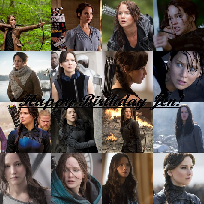 Happy 27th birthday to our Girl on Fire Jennifer Lawrence.