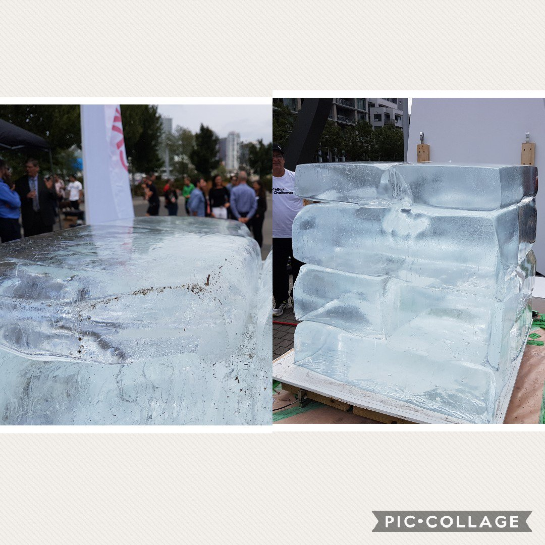 Another result from the #iceboxchallenge is dirty ice in bcbc and clean ice in ph ice box. #indoorairquality #comfort #airtightness #addHRV<br>http://pic.twitter.com/9ixwXnqz2J