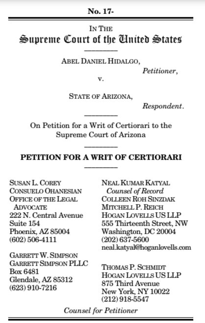 @neal_katyal POSTED: At @BuzzFeedNews , read the brief filed wit #SCOTUSh  asking the justices to take on the death penalthttps://t.co/aR38irwl6ny:  https://t.co