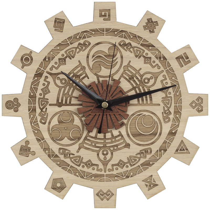 Handmade #Zelda clock in wood #LegendofZelda #Decor #FlockBN #GiftsIdeas -  https://www. etsy.com/listing/251732 567/zelda-gate-of-time-wood-clock?ref=shop_home_active_1 &nbsp; … <br>http://pic.twitter.com/o5zjPbdcXl