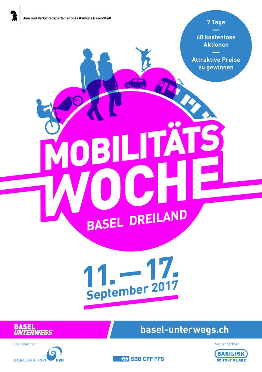 #Mobilitätswoche #Basel Dreiland: Sharing gets you further  ...  http:// sci.fo/3k6  &nbsp;   - … is the slogan of the #EuropeanMobilityWeek 2017<br>http://pic.twitter.com/3jwL1Ws8MA