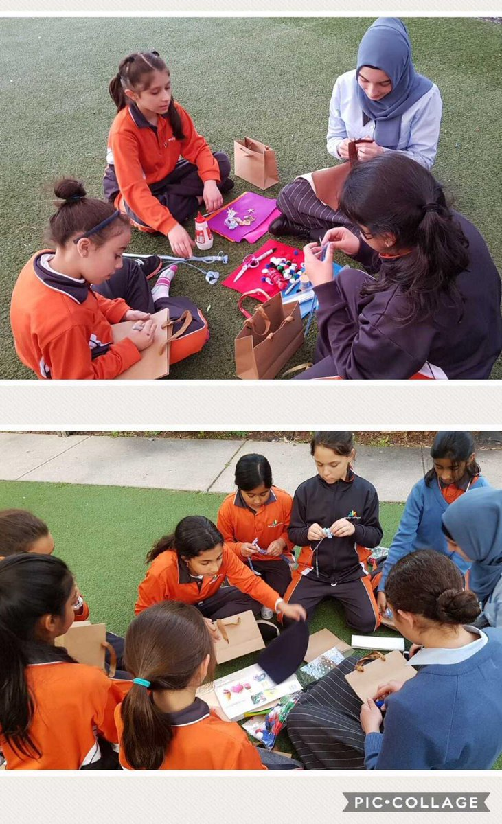 Year 4 students preparing a surprise gift for #FathersDay with their Peer Leaders <br>http://pic.twitter.com/z2WNv2Nd4Z