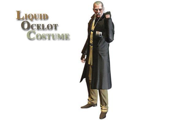 LIQUID OCELOT COSTUME FROM METAL GEAR SOLID 4 @Costumereplica  #liquidocelot #metalgearsolid #halloweencostume