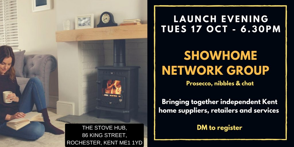#ShowHomeNetwork launch 17 Oct 6.30pm #Rochester #Kent Supply services or products for the #home? We&#39;d love to hear from you! DM for info<br>http://pic.twitter.com/zWxnqf3xu7