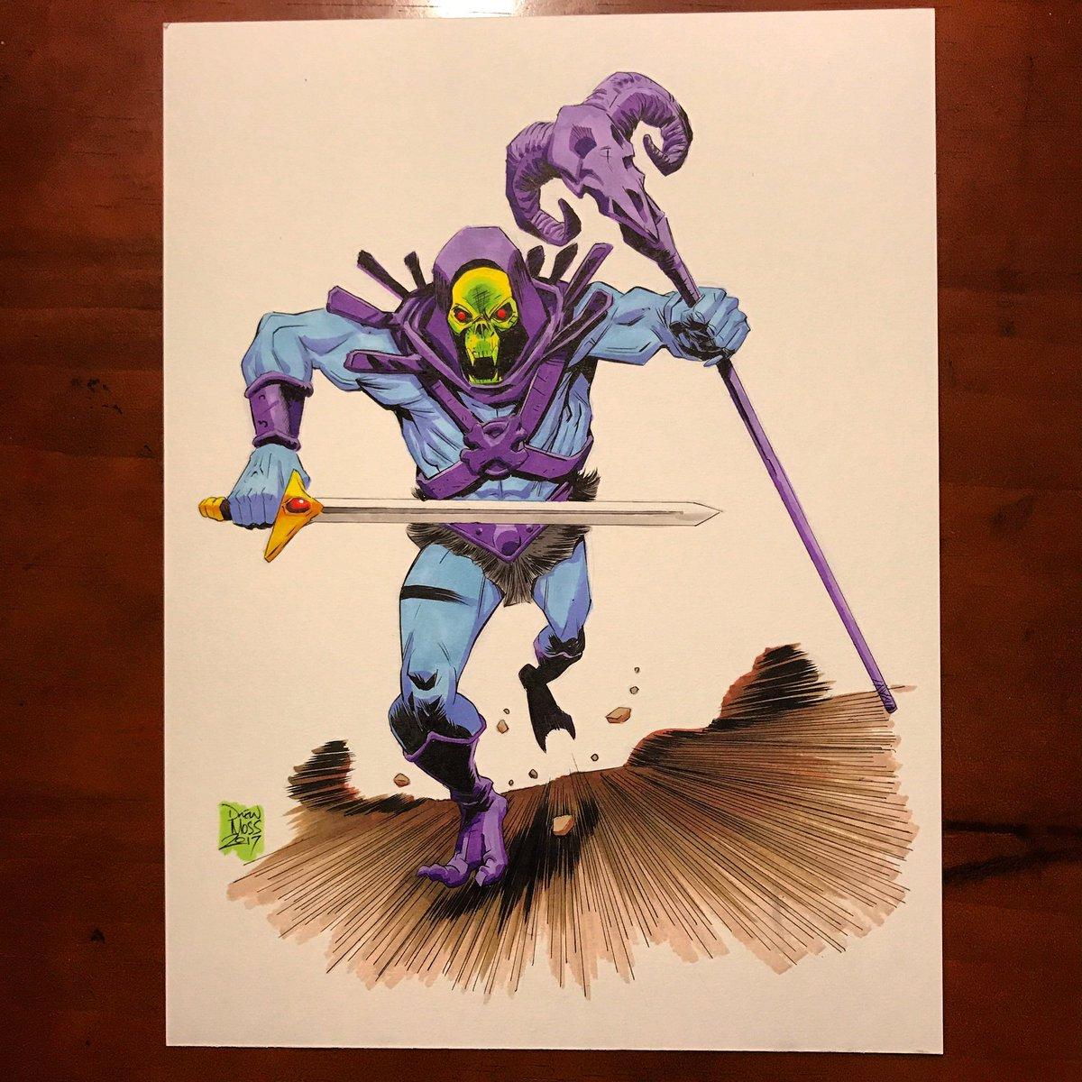 #skeletor #motu #mattel #heman #commission #comics so much fun<br>http://pic.twitter.com/Ko4G20jIgx