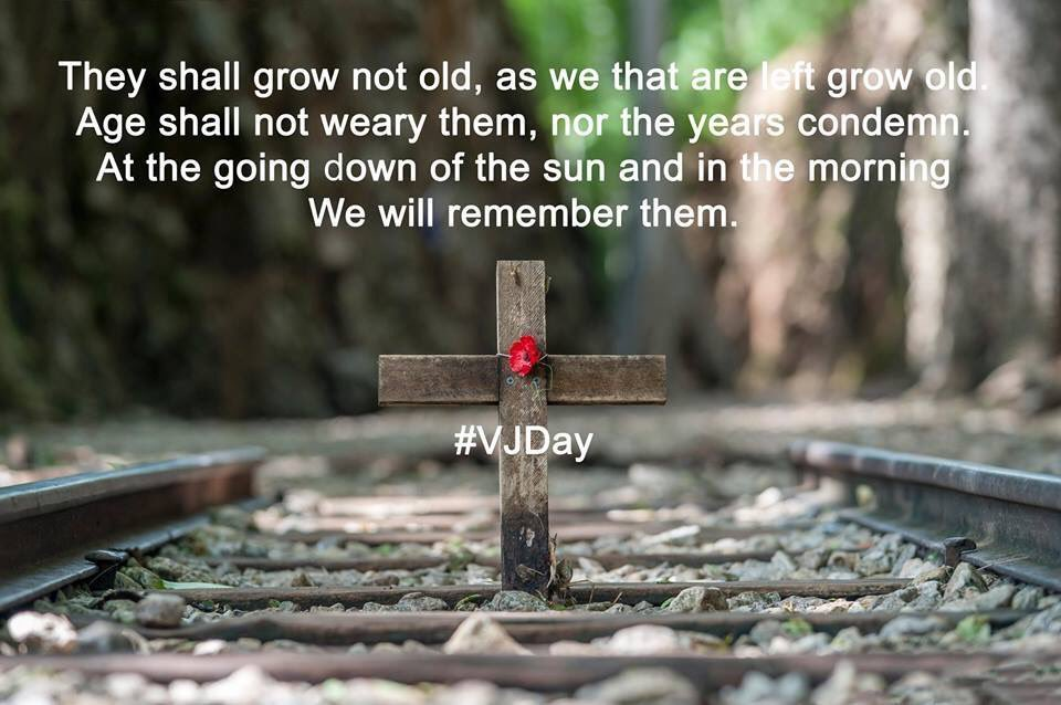 LIVE ON: To the memory of the fallen, and the future of the living. August 15th VJ Day never forget the forgotten Army. #Remember <br>http://pic.twitter.com/wPaHD5bTLI