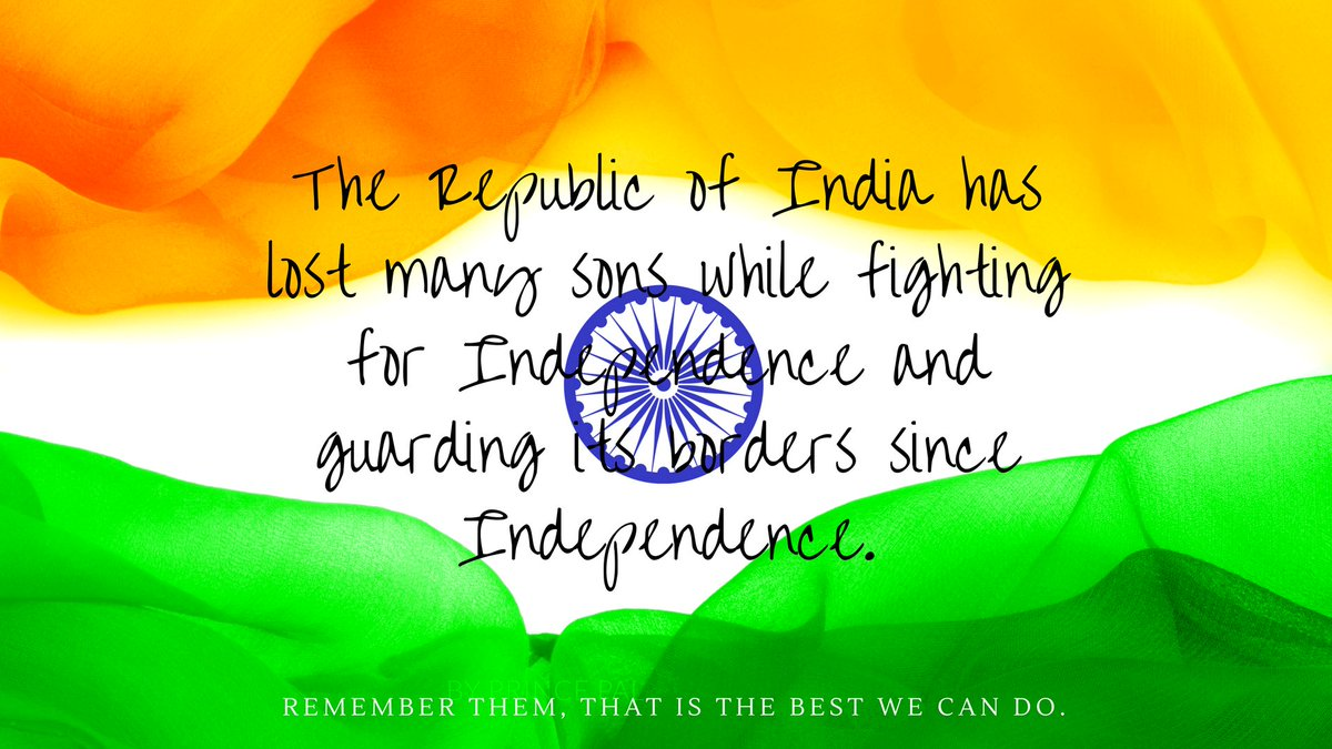 @demnindia Happy #IndependenceDayIndia . #Remember the #lost #heroes who have given their #life for a #great cause for all of us<br>http://pic.twitter.com/9WwJ0ILq3P