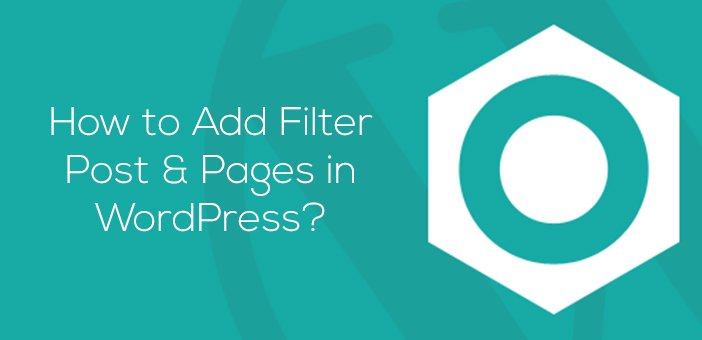 How to Add Filter #Post &amp; Pages in #WordPress ?  https:// internetseekho.com/how-to-add-fil ter-post-pages-in-wordpress/ &nbsp; … <br>http://pic.twitter.com/Zjjq8hpCfI
