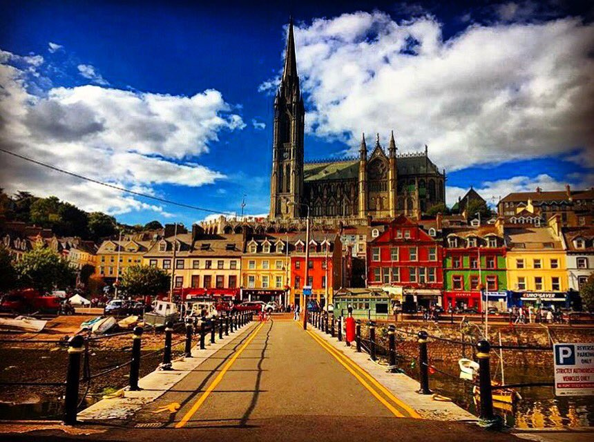 One of the most colorful town in Ireland  .  by IG:sara_discovers_irelanda #cobh #cork #ireland #irish_daily #colorful #500pxrtg<br>http://pic.twitter.com/RyJPY79LAS