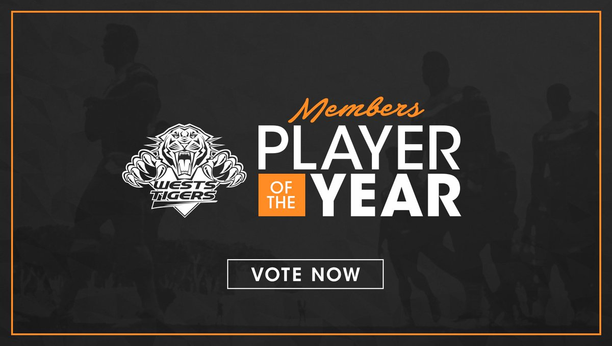 Members, make sure you cast your vote for your 2017 Player of the Year...