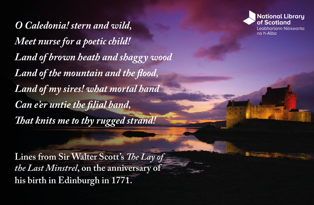 """""""Walter Scott has no business to write novels, especially good ones. — It is not fair. — He has fame and profit enough as a poet..."""""""