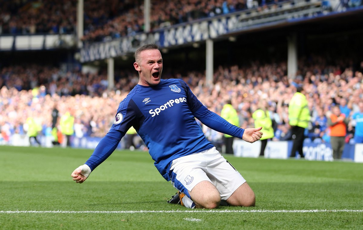 Wayne Rooney to inspire Everton in the p...