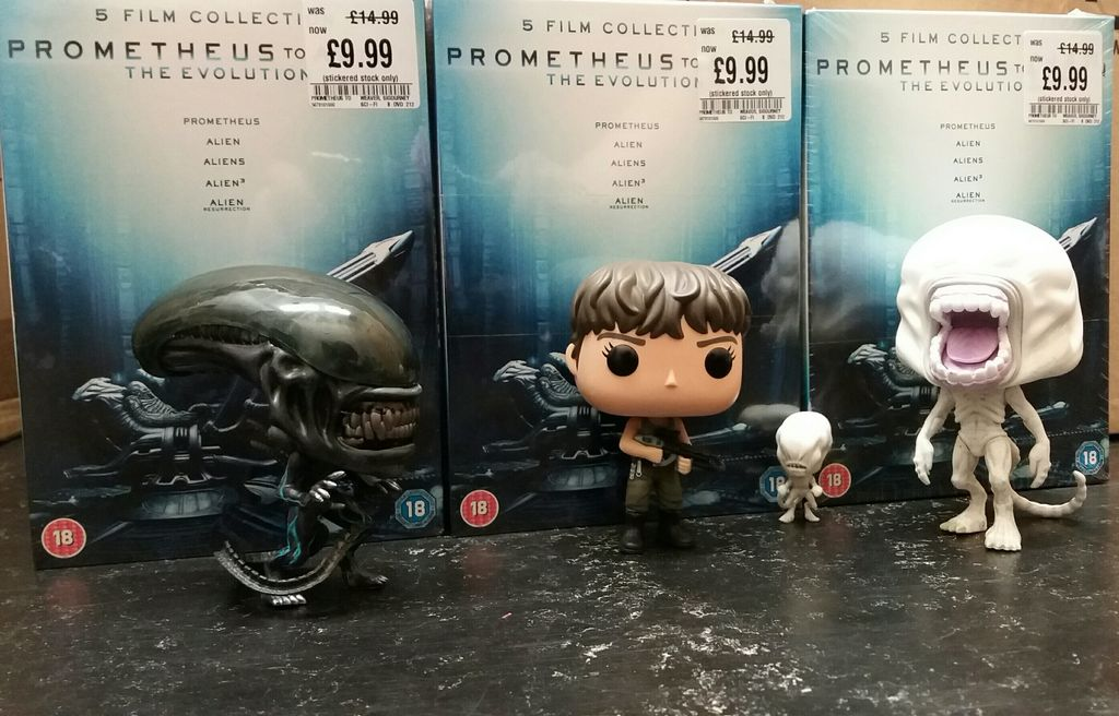 You won&#39;t want to run &amp; hide from these #AlienCovenant #PopVinyl coz they&#39;re just too cute #xenomorph #neomorph #toddler #Daniels #Funko<br>http://pic.twitter.com/cHr4a7D9hu