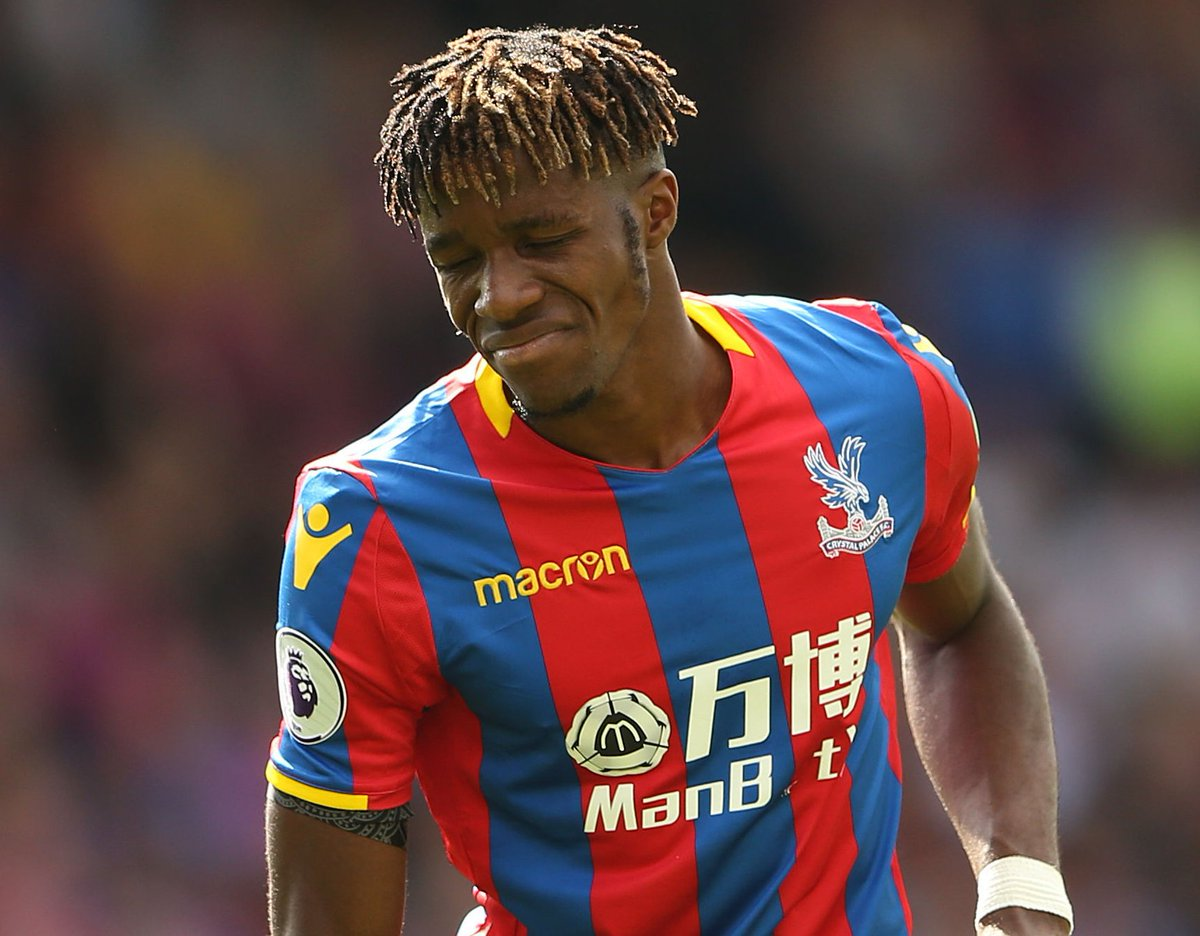 Image result for wilfried zaha in stress