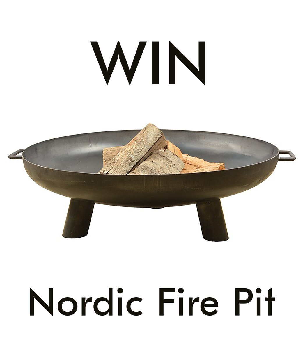 Make the most of the #bankholiday &amp; RT this post for a chance to #win a Nordic Fire Pit from @the_farthing  http:// bit.ly/2x0g6P6  &nbsp;  <br>http://pic.twitter.com/CMK9rpqSz9