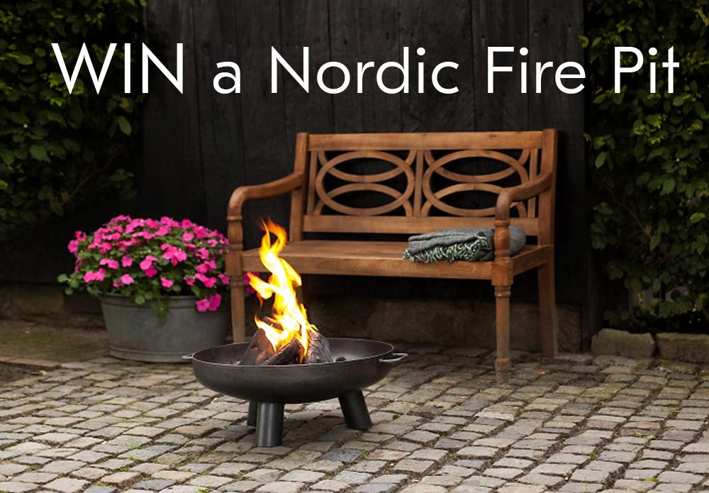 What could be better for #bankholiday gatherings than Nordic Fire Pit @the_farthing? RT this post for chance to #win  http:// bit.ly/2x0g6P6  &nbsp;  <br>http://pic.twitter.com/n0q1QYVTH9