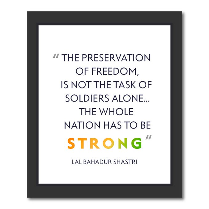 It's our duty to safeguard India's hard won freedom. Let's stand together and celebrate 70 years of Independence. https://t.co/mvBk1SyzeJ