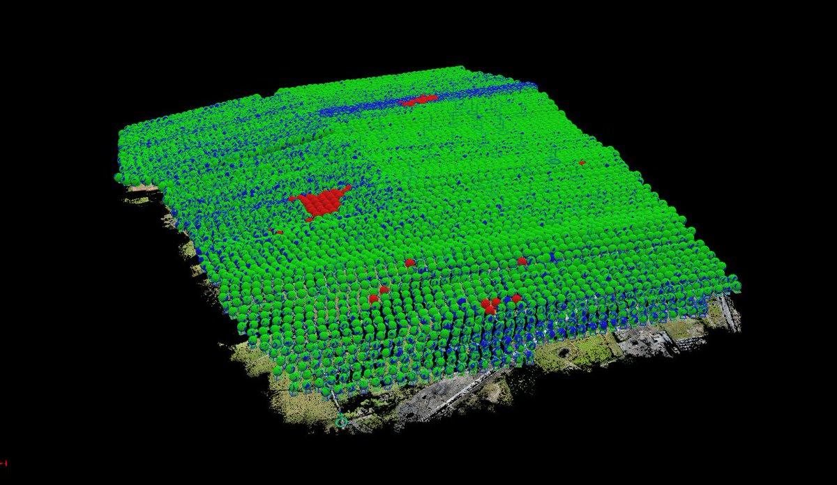 1577 acres - 636 ha - 3hrs 43min total flying - 4720 images @ 4cm GSD over 4 billion 3D points - 6 days of surveying #aberdeen #survey #uav<br>http://pic.twitter.com/LTmT917Mx9