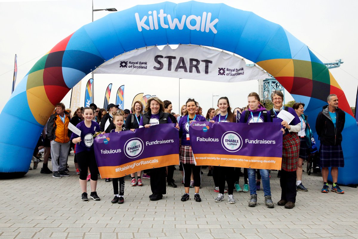 Getting excited for @thekiltwalk #Dundee on Sunday! Can&#39;t wait to make more memories like these with our @ENABLEScotland walkers #TeamENABLE<br>http://pic.twitter.com/Wf1sZxswEY