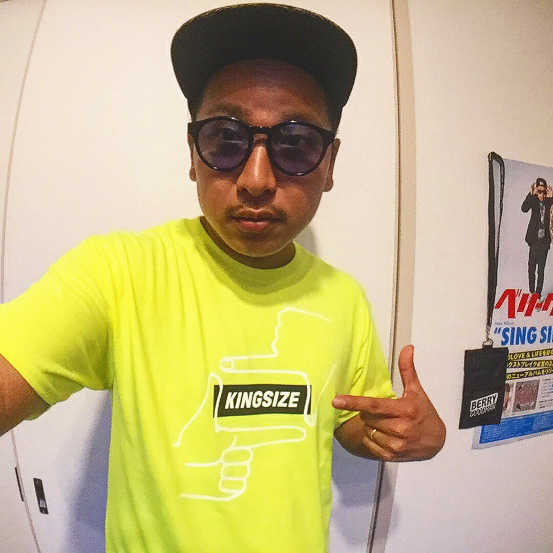 Thanks!! KINGSIZE with MOCA from BERRYGOODMAN!! - #kingsize_05  #MOCA  #berrygoodman  #thankyou  #nice #NEW #summer #ベリーグッドマン<br>http://pic.twitter.com/EeoU4y8kU1