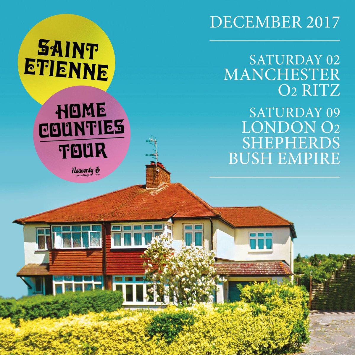 ANNOUNCE// #SaintEtienne (@bobpetesarah) have announced a MCR / LDN show this Dec! Tix on sale Fri @ 9:  http:// gigst.rs/SaintEt  &nbsp;  <br>http://pic.twitter.com/7uT4sR0rcJ