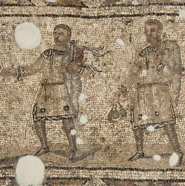 Mosaic of #Magicians,  Floor Covering, #Roman Period, 4th C AD. Hatay Archaelogy Museum. <br>http://pic.twitter.com/iowdeWqOaX