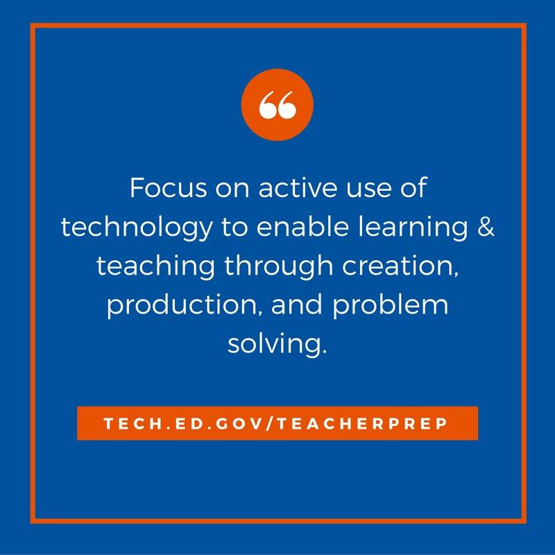 Teacher prep programs must build sustainable professional learning systems for #highered instructors:  http:// tech.ed.gov/teacherprep  &nbsp;   #teacheredchat<br>http://pic.twitter.com/Z3tUFjnf7j