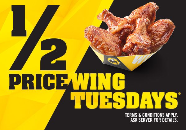 tuesday deals buffalo wild wings