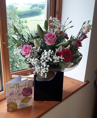 Thanks to Mr G for the lovely flowers. Happy to have helped get all your penalties written off #tax help #HMRCpenalties #older people <br>http://pic.twitter.com/npMNuZBGaP