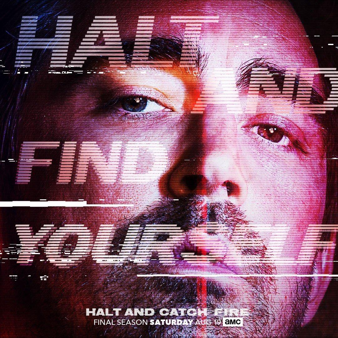 Seek. Find. Search. Discover. #HaltandCatchFire