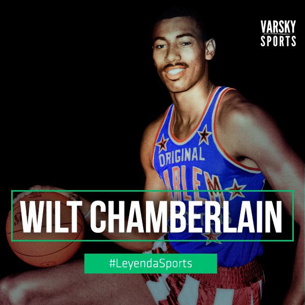 #LeyendaSports 21/8/1936 nació Wilt Chamberlain: 100 pts en un partido...