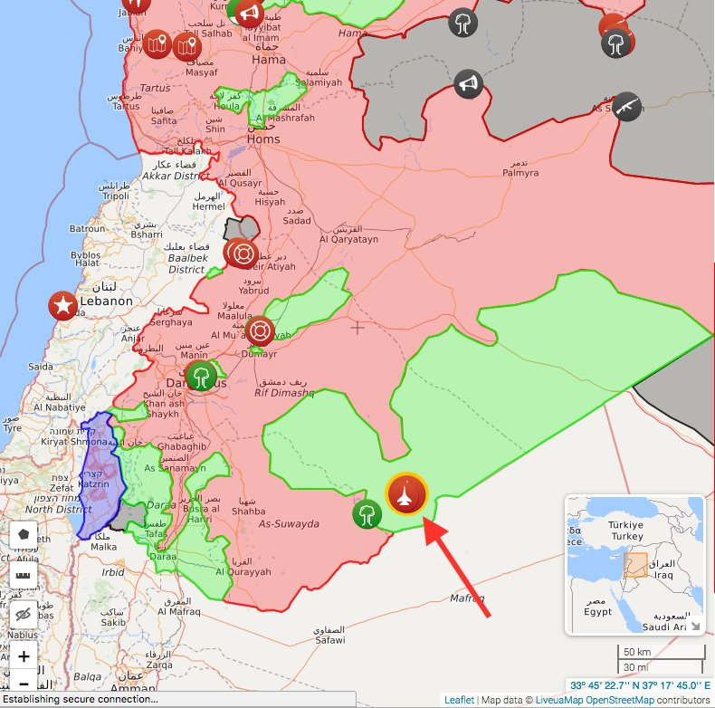 Location of the shoot down, per syria live map - scoopnest.com