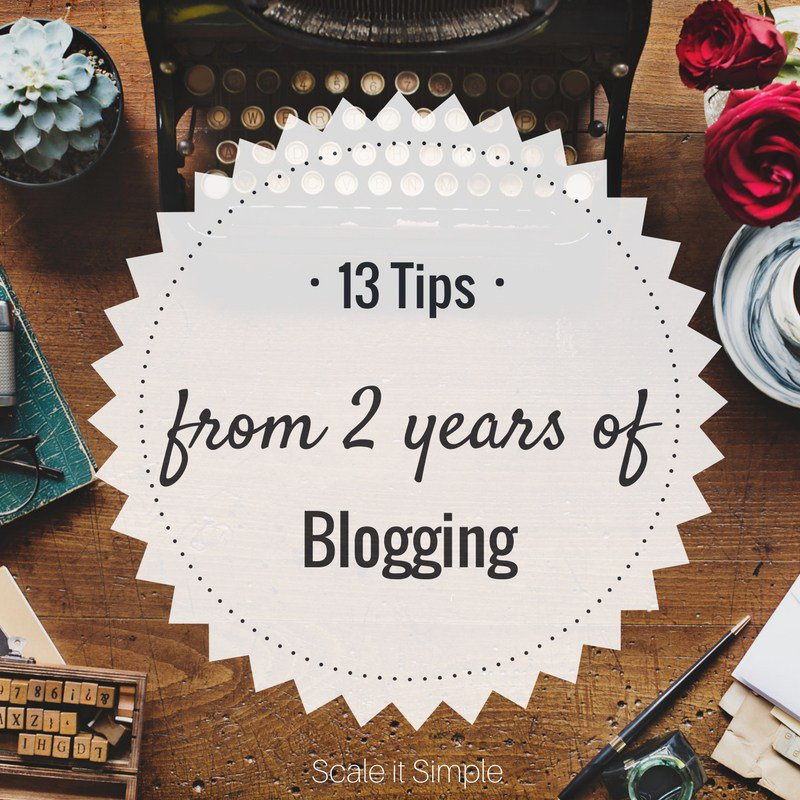 13 Blogging Tips from 2 Years of Blogging #blogginggals #bloggingtips #lblogger  http:// scaleitsimple.com/2017/08/15/13- blogging-tips-2-years-blogging/ &nbsp; … <br>http://pic.twitter.com/on4Q4XvoPp