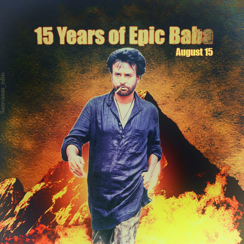 #Baba was sold for 50 Crores in 2002(!) and thus flopped at the Box Office. Still a fan fav! #15YearsOfEpicBaba #15YearsOfBaba #Rajinikanth<br>http://pic.twitter.com/Wyd07yzBNQ