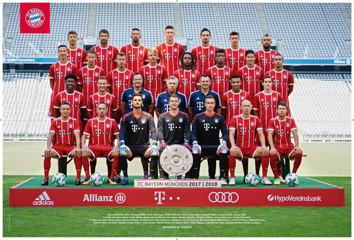 fc bayern m nchen on twitter unser teamposter f r die. Black Bedroom Furniture Sets. Home Design Ideas